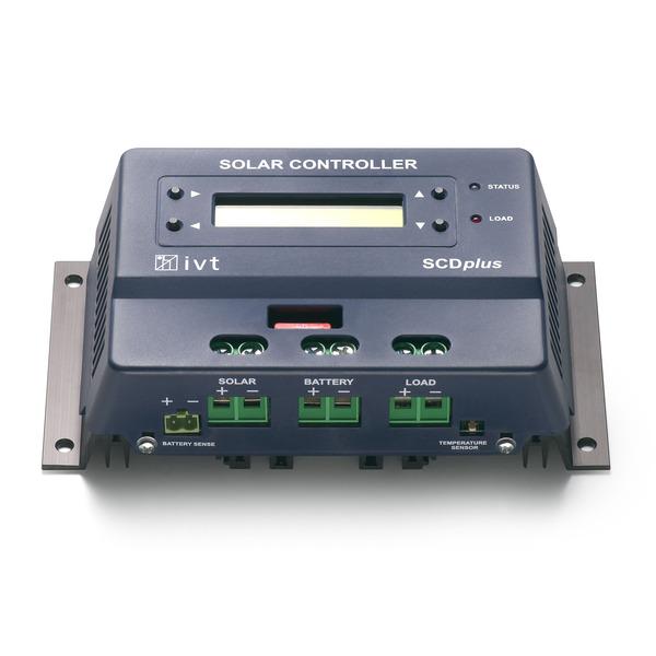 IVT Solarcontroller SCD-40, 40A plus mit Display