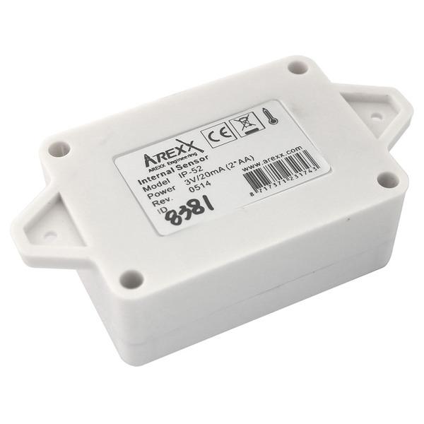 AREXX Funk-Datenlogger-System IP-52, Temperatur-Sensor, IP-66 wasserfest