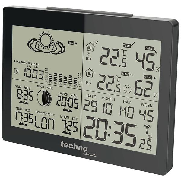technoline Wetterstation WS 6760, inkl. Außensensor