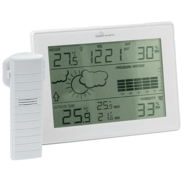 ELV Mobile Alerts Zusatzsensoren-Spar-Set: Wetterstation MA10410, inkl. 3x Thermo-/Hygrosensor