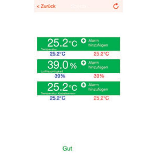ELV Mobile Alerts Temperatur-/Luftfeuchtigkeitssensor MA 10320PRO mit zusätzlichem Temperaturfühler