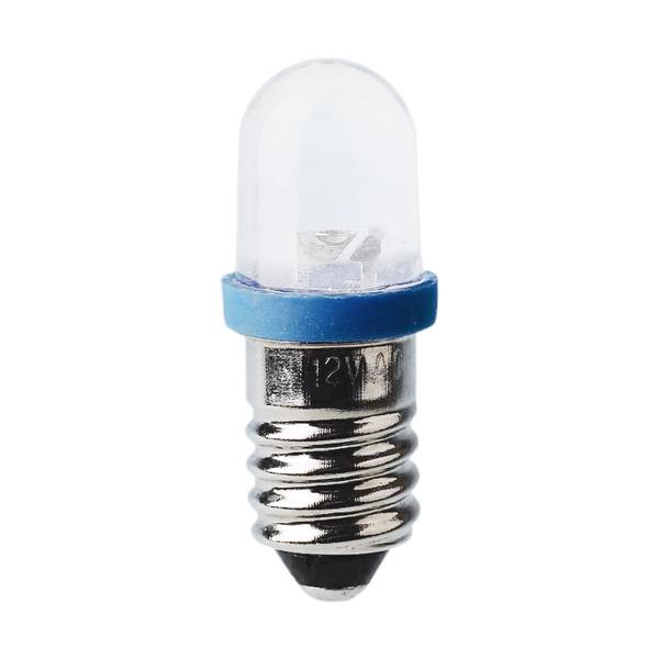 LED Kleinlampe Sockel E10, 10 x 28 mm, 12 V, grün