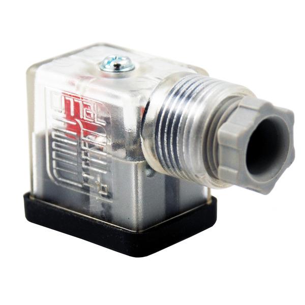 Precon Gerätestecker B-12443-0127-OV mit LED, 12–24 V/DC
