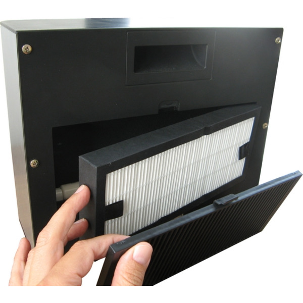 Aktobis Luftreiniger WDH-616b, für Räume bis 15 qm