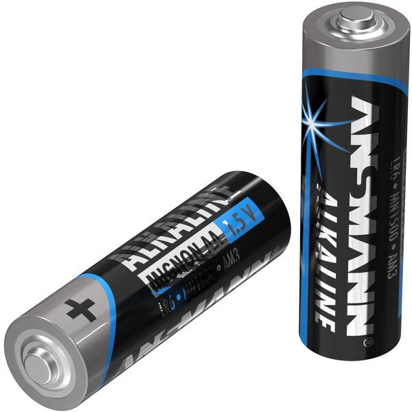 Ansmann Alkaline Batterie Vorratspack, 40 x Mignon AA