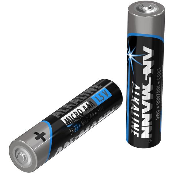 Ansmann Alkaline Batterie Vorratspack, 40 x Micro AAA