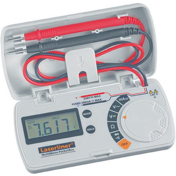 Laserliner Universal-Multimeter PocketBox mit automatischer Bereichsumschaltung