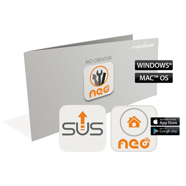 mediola AIO CREATOR NEO Plugin Homematic CCU SUM-4101-B inkl. 12 Monate Subscription Update Service