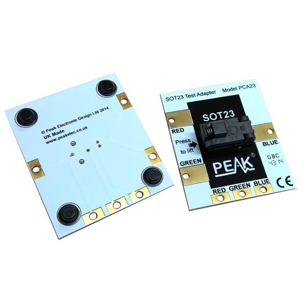 PEAK Komponenten-Testadapter PCA23 für SOT23-Komponenten