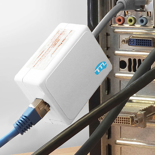 TTL-Network Netzwerkisolator RJ45, galvanische Trennung