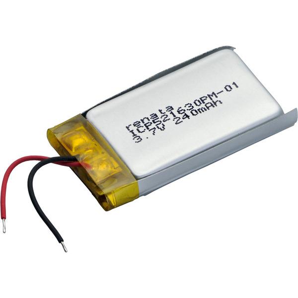 Renata Lithium Polymer Akku mit Schutzschaltung ICP521630PM 3,7 V 250 mAh