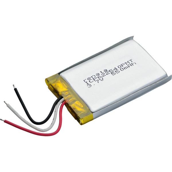 Renata Lithium Polymer Akku mit Schutzschaltung ICP622540PMT 3,7 V 550 mAh