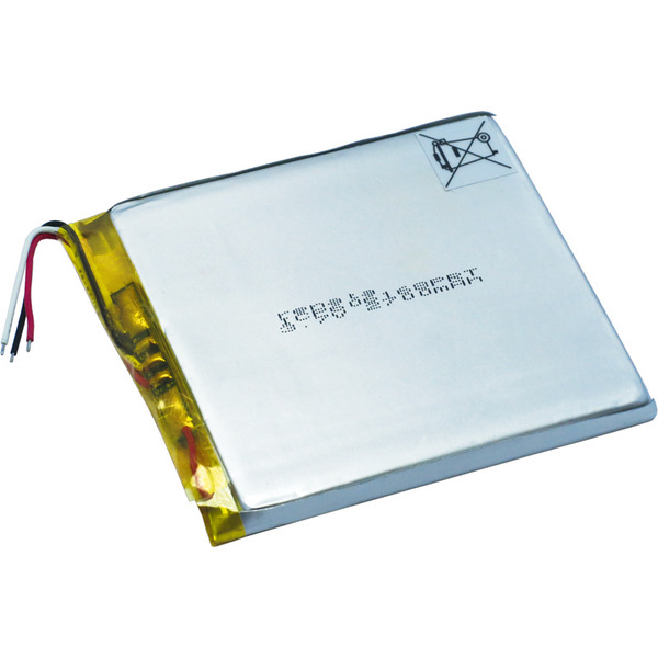 Renata Lithium Polymer Akku mit Schutzschaltung ICP606168PRT 3,7 V 2800 mAh