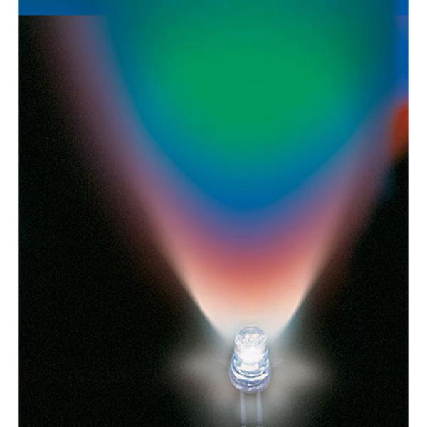 Lucky Light LED LL-F506RGBC2E-F2, 5 mm, RGB, 800–2000 mcd, mit Farbwechsel