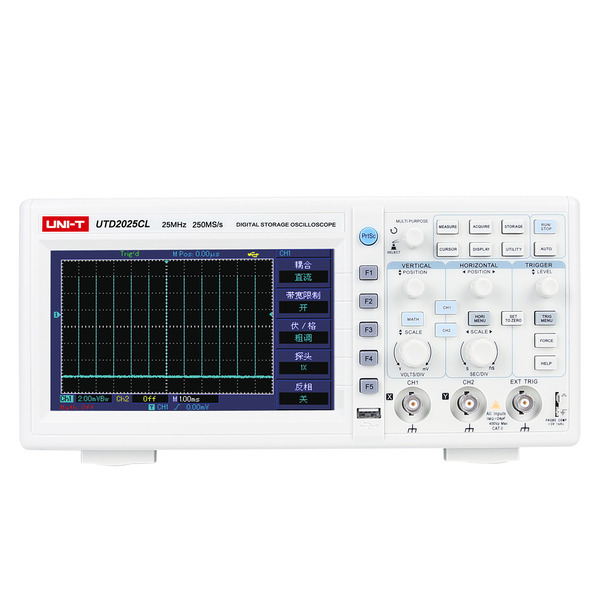 Uni-Trend Digital-Speicher-Oszilloskop UTD2025CL 25MHz, 250MS/s