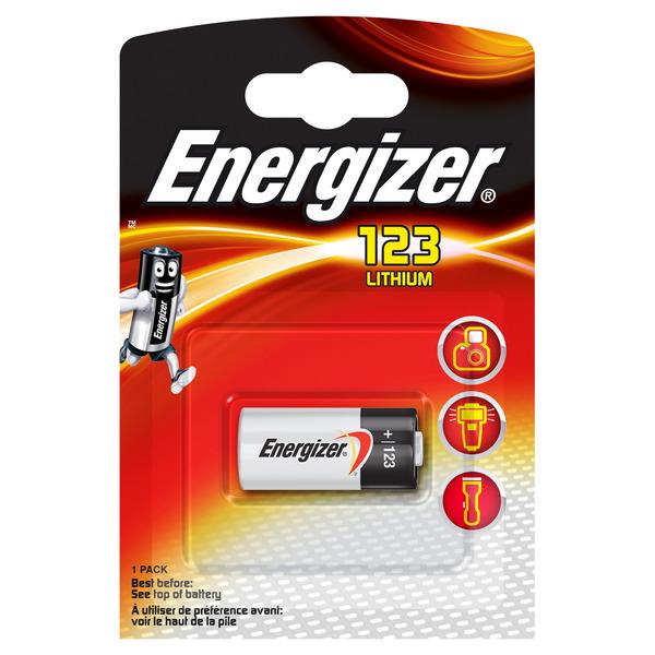 Energizer Foto-Lithium-Batterie CR123 3 V