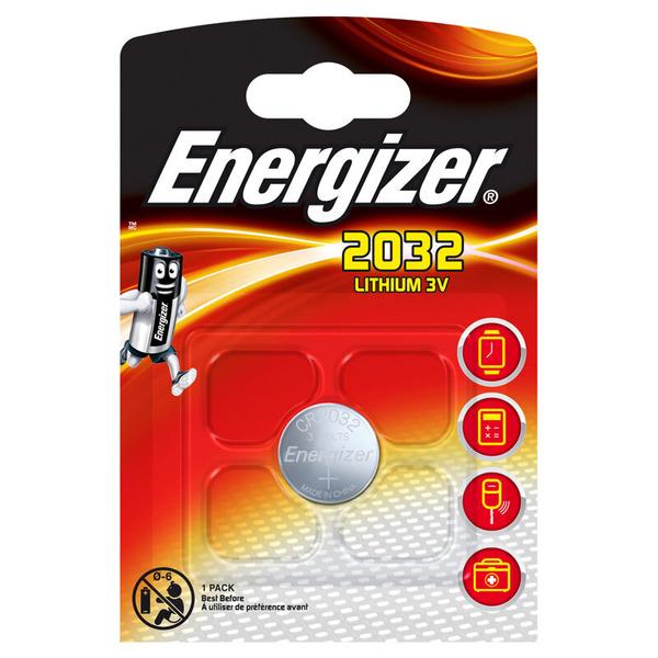 Energizer Lithium-Knopfzelle CR2032