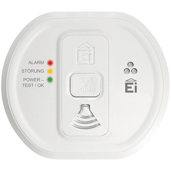 Ei Electronics Kohlenmonoxidwarnmelder Ei208 mit 10 Jahres-Batterie