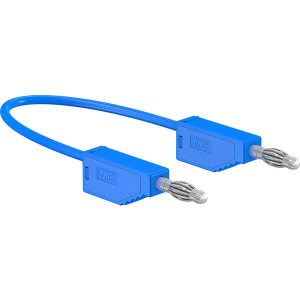 Silikon-Verbindungsleitungen LK425-A/SIL 4 mm, 30A, 1m, blau