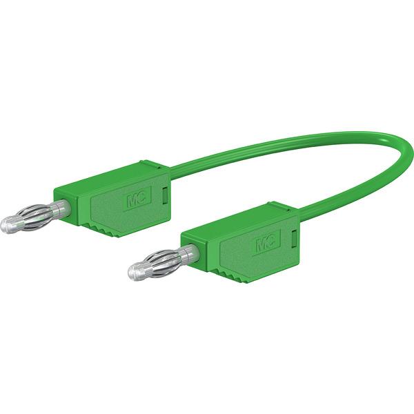 Silikon-Verbindungsleitungen LK425-A/SIL 4 mm, 30A, 1m, grün
