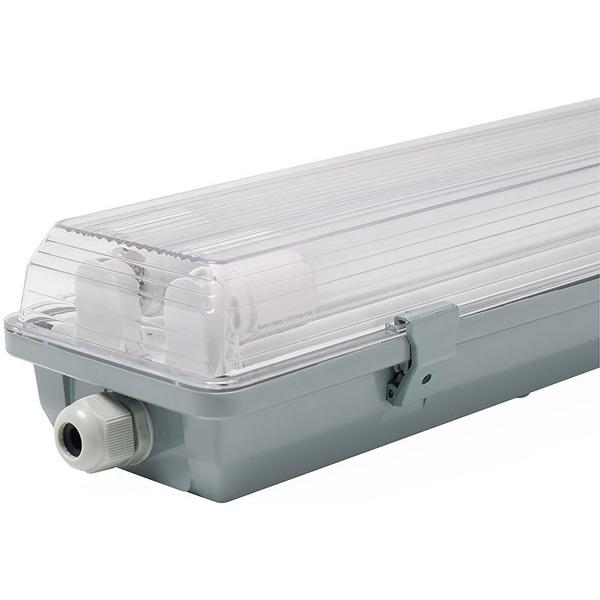 Müller Licht 36-W-LED-Feuchtraumwannenleuchte mit 2x 1700 lm , neutralweiß, 120 cm, IP65
