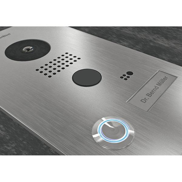 Doorbird D201 WLAN-Video-Türsprechanlage, Aufputz-Version mit Edelstahlgehäuse