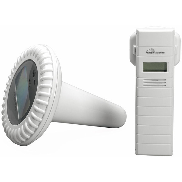 ELV Mobile Alerts Teich-/Pool-Temperatursensor MA10700, inkl. Thermo-Hygrosensor-Repeater