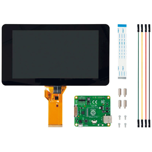 Raspberry Pi Touchscreen-Display 17,78 cm (7 Zoll)