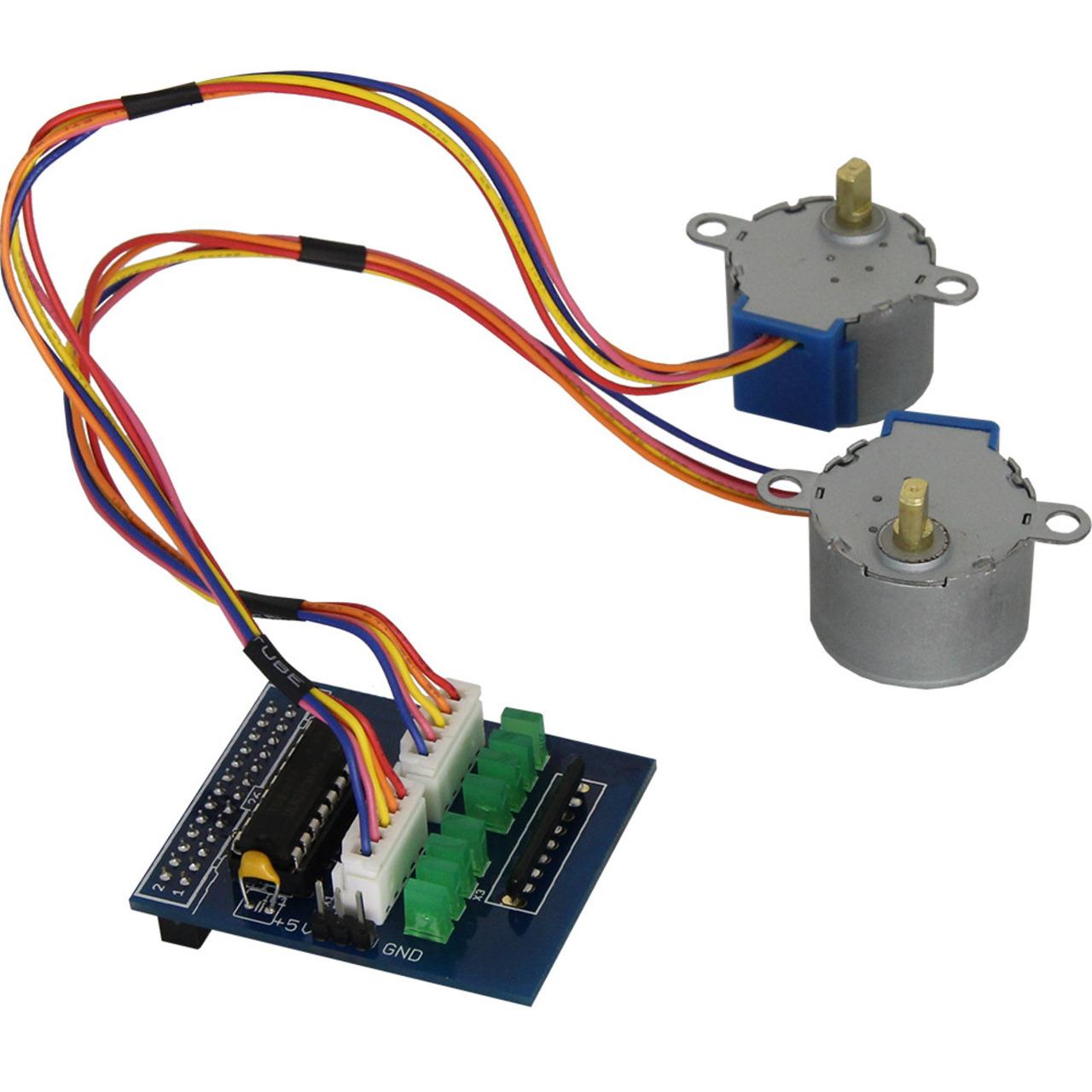 Image of Amerry Motorsteuerung für Raspberry Pi inkl. 2 Schrittmotoren