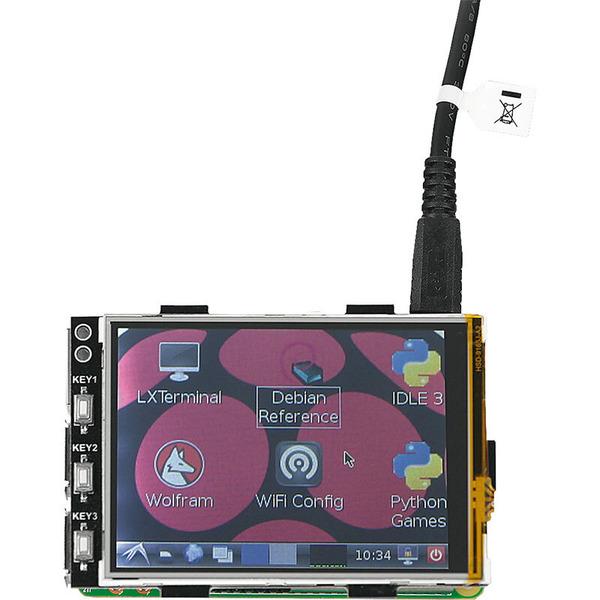 "Display 8,13 cm (3,2"") für Raspberry Pi"