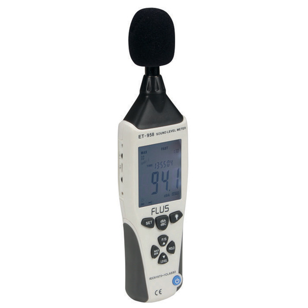 Schallpegel-Messgerät DEM202 mit Datenloggerfunktion