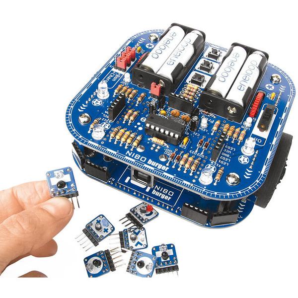 nicai systems Roboterbausatz NIBO burger