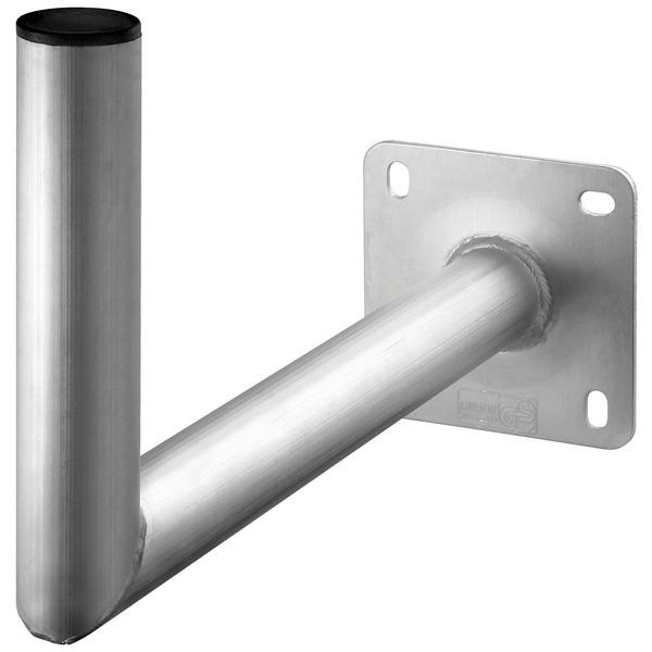 goobay Wandhalter für SAT-Spiegel, Aluminium, Wandabstand 450 mm