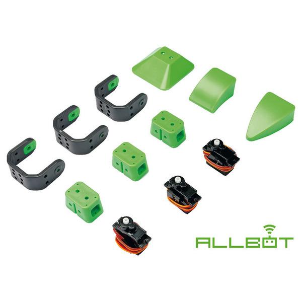 Velleman Bein mit 3 Servos für Roboterbausatz ALLBOT, VR013