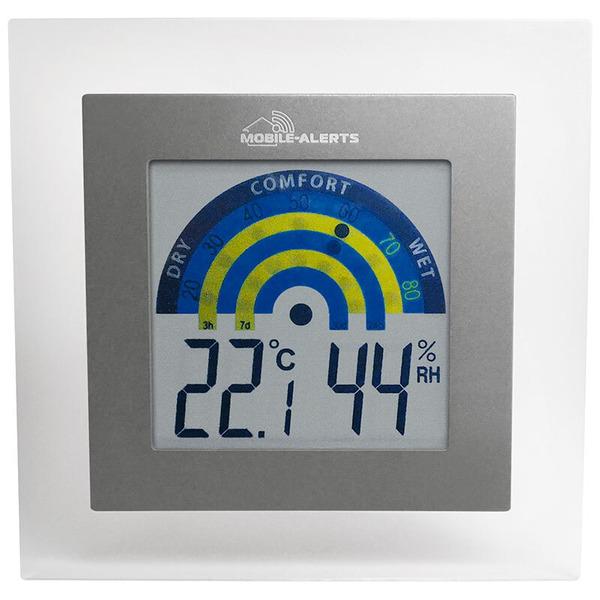 ELV Mobile Alerts Thermo-/Hygrometer MA10230, mit Klimakomfortanzeige im Tagesverlauf