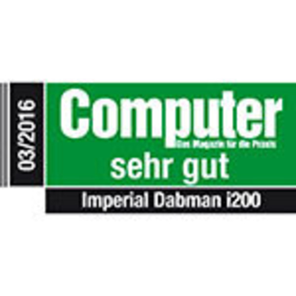 Imperial Digitalradio DABMAN i200, UKW-/DAB+/Internetradio, App-Steuerung, schwarz