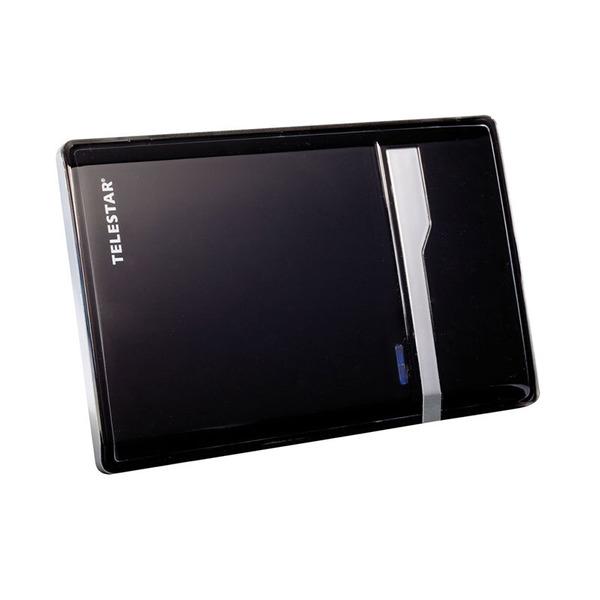Telestar Aktive DVB-T-Zimmerantenne ANTENNA 7 LTE, bis zu 35 dB, schwarz