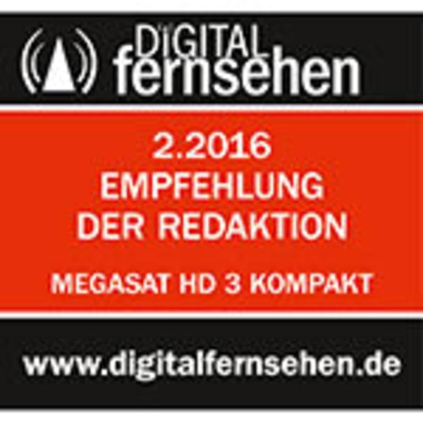 """Megasat Satfinder / Sat-Messgerät HD 3 Kompakt V2, DVB-S/S2, LC-Farbdisplay 6,1 cm (2,4"""")"""