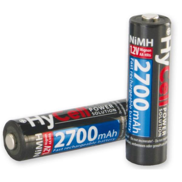 Hycell NiMH-Akku Mignon AA, Typ 2700, 4er-Blister
