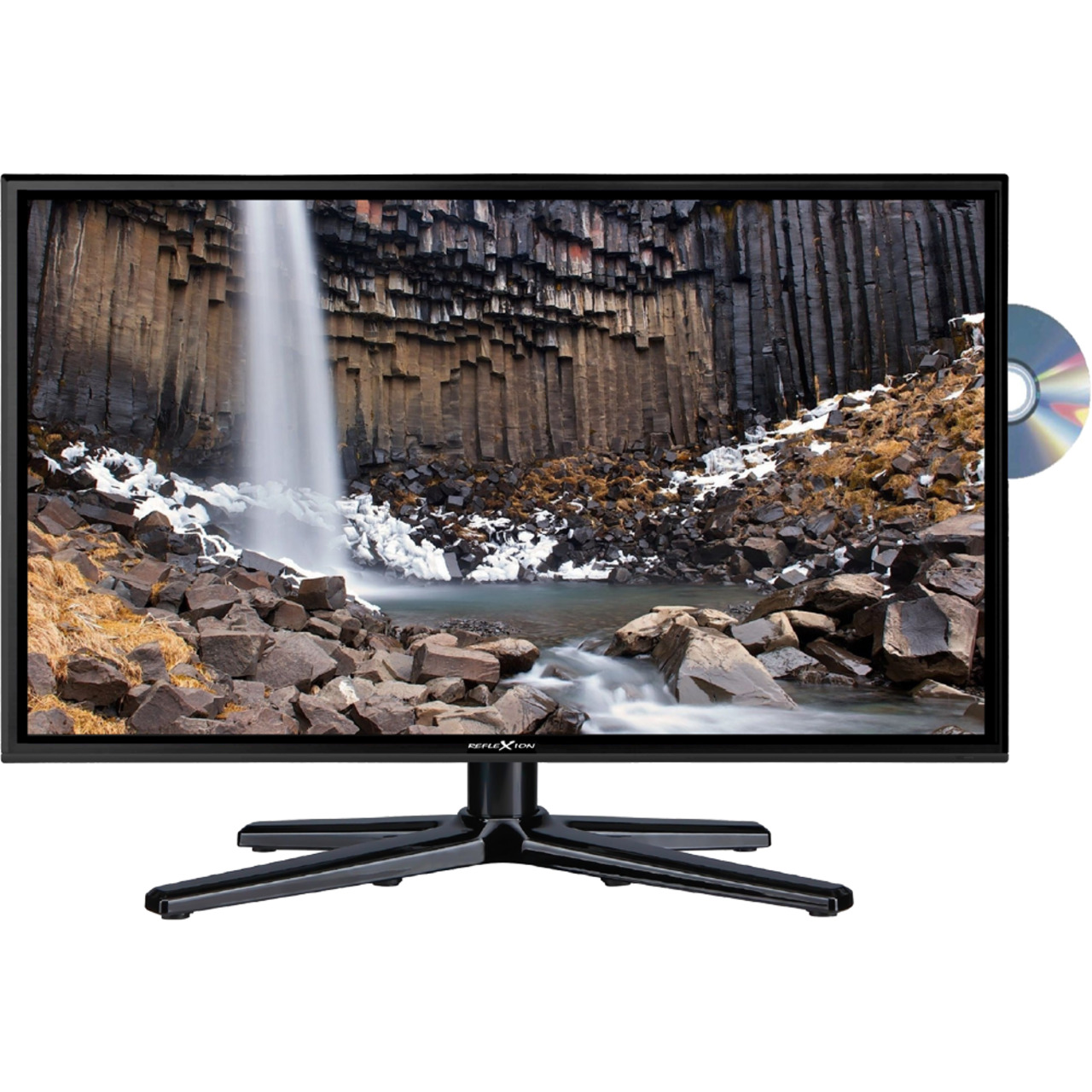 Reflexion 5-in-1-LED-TV LDDW240- 60 cm (23-6)- DVD-Player- DVB-S-S2-C-T-T2- H-265-HEVC- 1080p