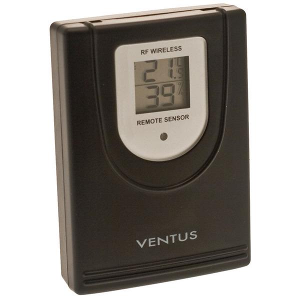 Ventus Zusatz-Thermo-Hygrosensor W044 für Funk-Wetterstation W177 und W155