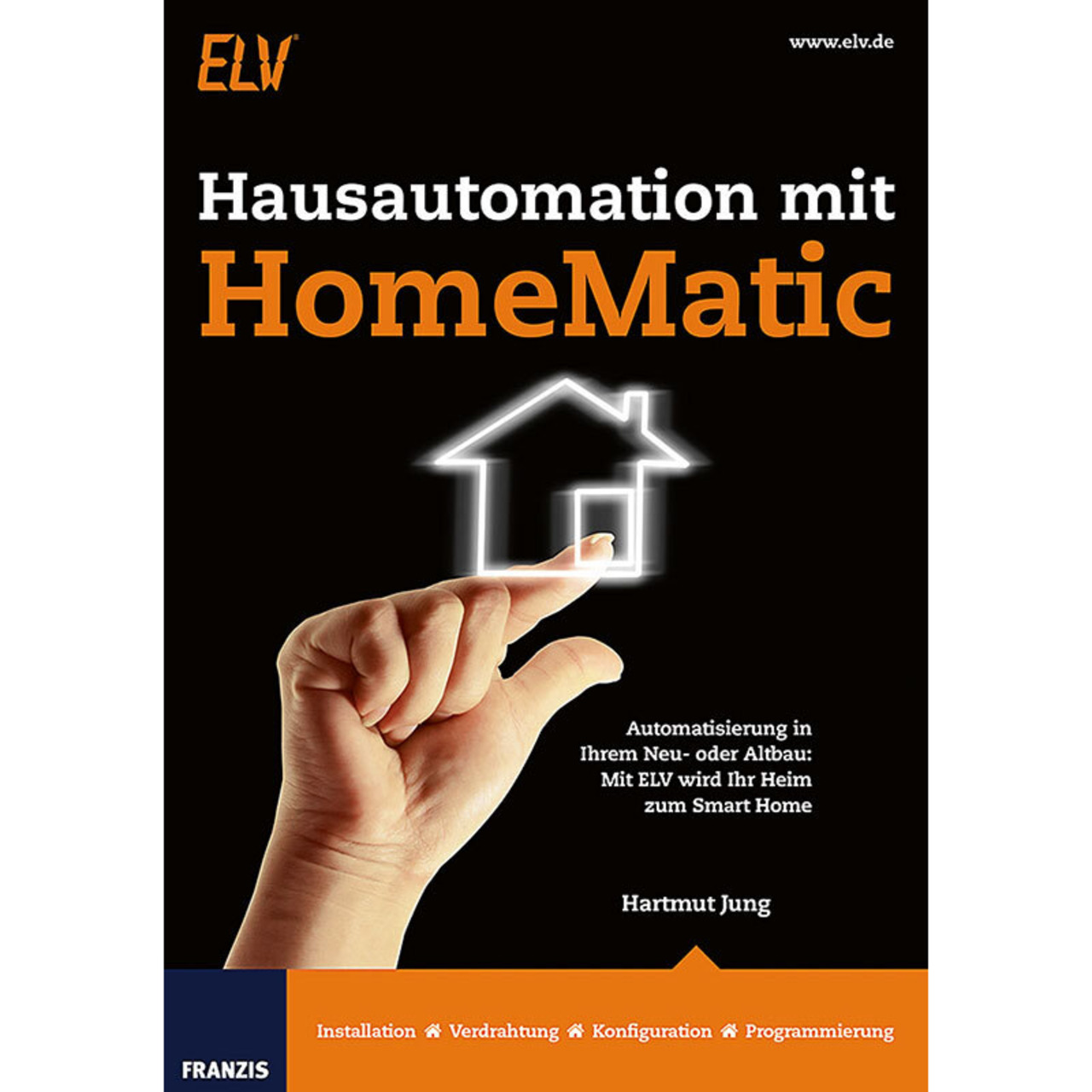 FRANZIS Buch Hausautomation mit Homematic