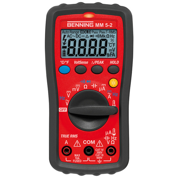 BENNING TRUE RMS Digitalmultimeter MM 5-2