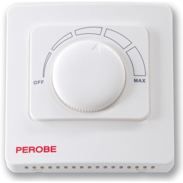 Perobe Analoger Fußbodentemperaturregler mit Bodenfühler für elektrische Fußbodentemperierung