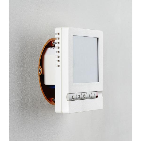 Perobe Digitaler Fußbodentemperaturregler mit Bodenfühler mit Zeitschaltuhr