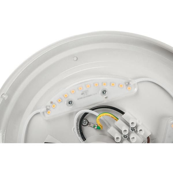 ELV 12-W-LED-Deckenleuchte, 1000 lm, IP20, warmweiß