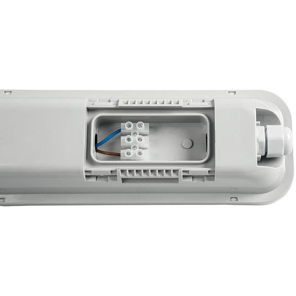 ELV 3er Set 18-W-LED-Feuchtraumwannenleuchte, 60 cm, neutralweiß, IP65
