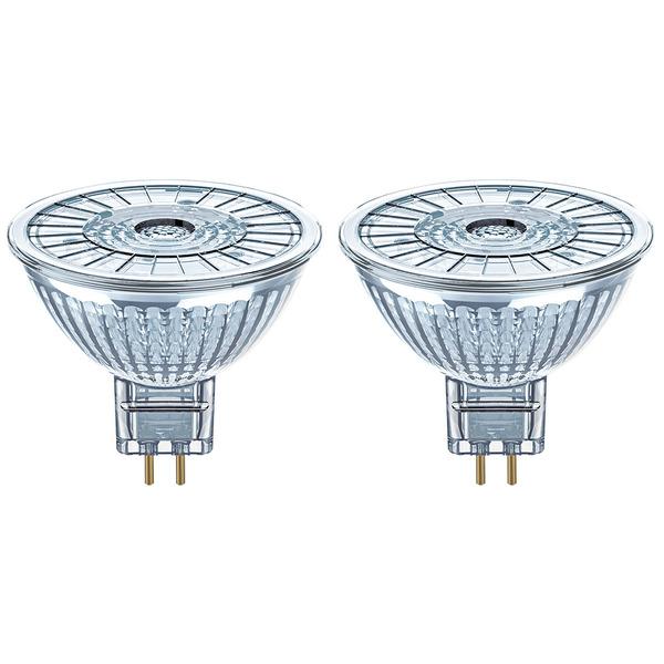 OSRAM LED MULTIPACK 2er Pack 4,6-W-GU5,3-LED-Lampen, warmweiß, 12 V