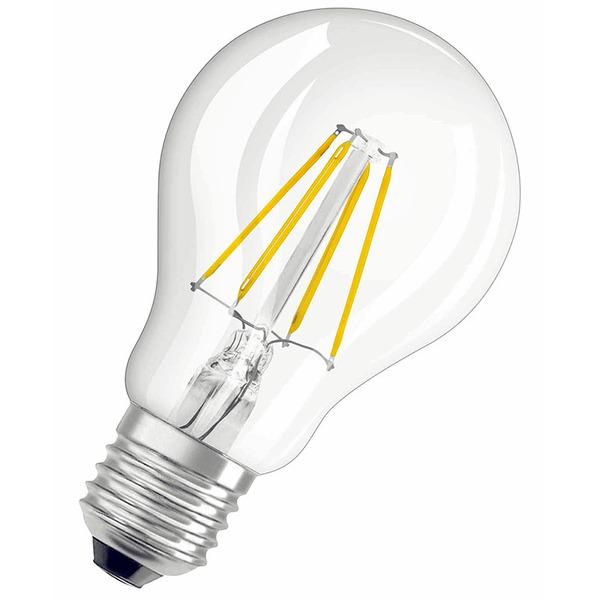 OSRAM LED RETRO Glass Bulb 5-W-Filament-LED-Lampe E27, klar, dimmbar