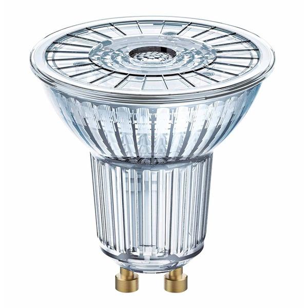 OSRAM LED SUPERSTAR 8,3-W-GU10-LED-Lampe, warmweiß, dimmbar, mit Glas-Reflektor